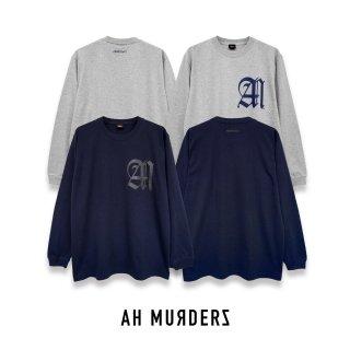 """AH MURDERZ """" AM """" L/S T-shirts - 2nd Color -"""
