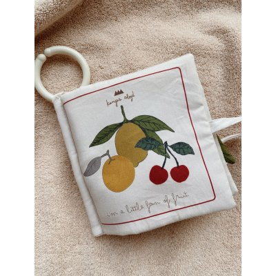 <img class='new_mark_img1' src='https://img.shop-pro.jp/img/new/icons56.gif' style='border:none;display:inline;margin:0px;padding:0px;width:auto;' /> konges solid FRUIT FABRIC BOOK