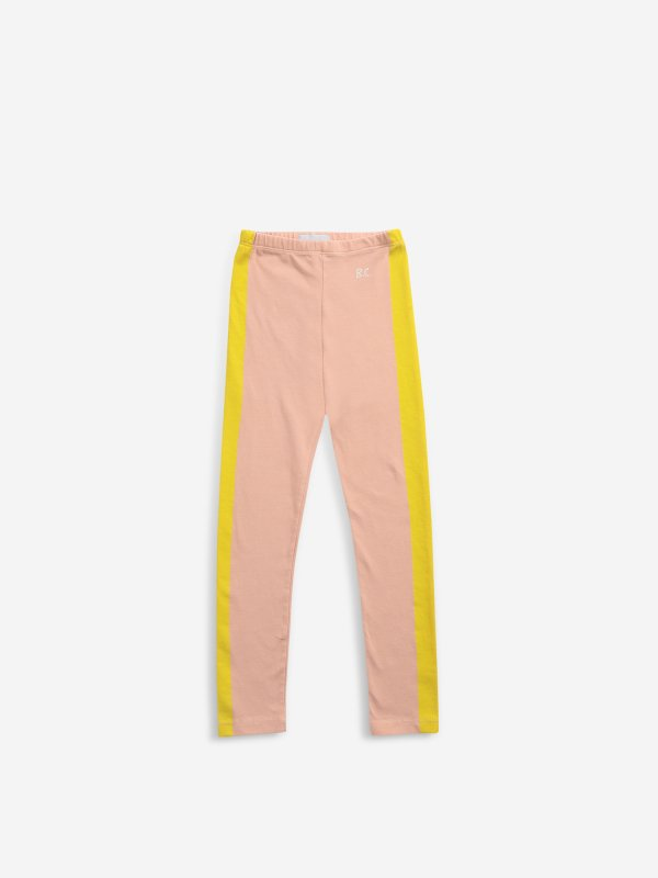 <img class='new_mark_img1' src='https://img.shop-pro.jp/img/new/icons14.gif' style='border:none;display:inline;margin:0px;padding:0px;width:auto;' />aw21 BOBOCHOSES Yellow Stripes leggings(2-3y,4-5y,6-7y)