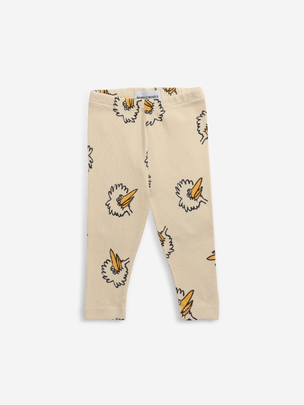 <img class='new_mark_img1' src='https://img.shop-pro.jp/img/new/icons14.gif' style='border:none;display:inline;margin:0px;padding:0px;width:auto;' />aw21 BOBOCHOSES baby Birdie All Over leggings (6-12m)