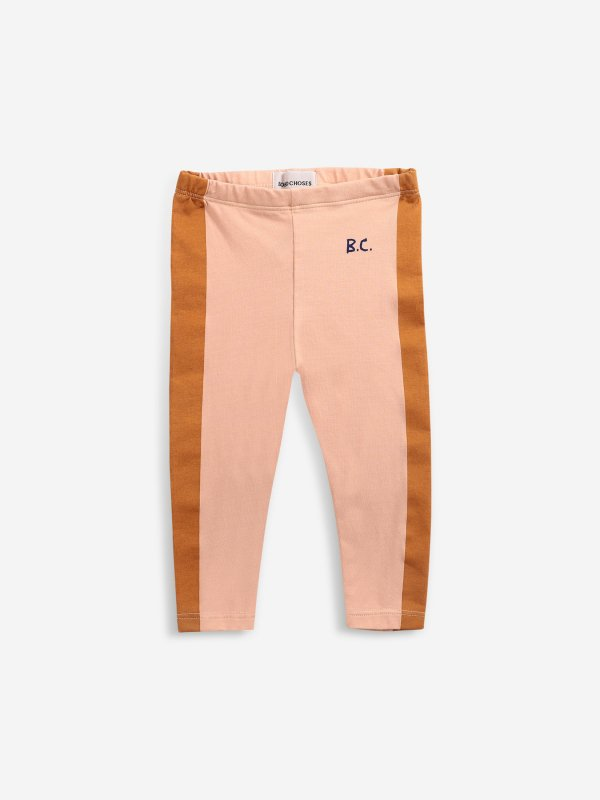 <img class='new_mark_img1' src='https://img.shop-pro.jp/img/new/icons14.gif' style='border:none;display:inline;margin:0px;padding:0px;width:auto;' />aw21 BOBOCHOSES baby Mustard Stripes leggings
