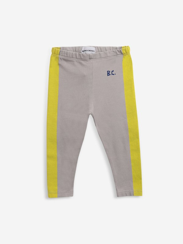 <img class='new_mark_img1' src='https://img.shop-pro.jp/img/new/icons14.gif' style='border:none;display:inline;margin:0px;padding:0px;width:auto;' />aw21 BOBOCHOSES baby Yellow Stripes leggings