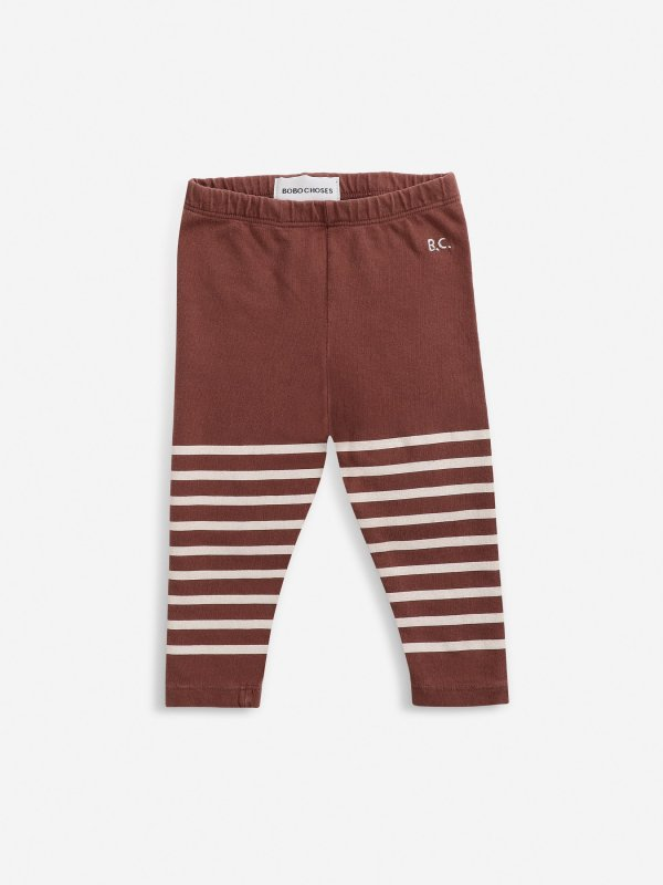 <img class='new_mark_img1' src='https://img.shop-pro.jp/img/new/icons14.gif' style='border:none;display:inline;margin:0px;padding:0px;width:auto;' />aw21 BOBOCHOSES baby Stripped leggings