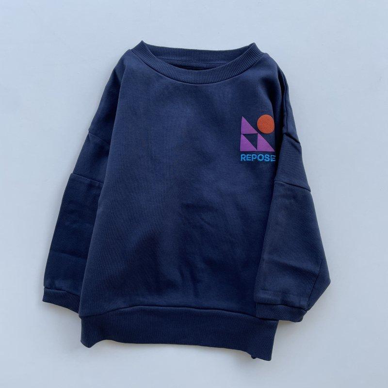 <img class='new_mark_img1' src='https://img.shop-pro.jp/img/new/icons14.gif' style='border:none;display:inline;margin:0px;padding:0px;width:auto;' />aw21 ReposeAMS crewneck sweater / dark night blue
