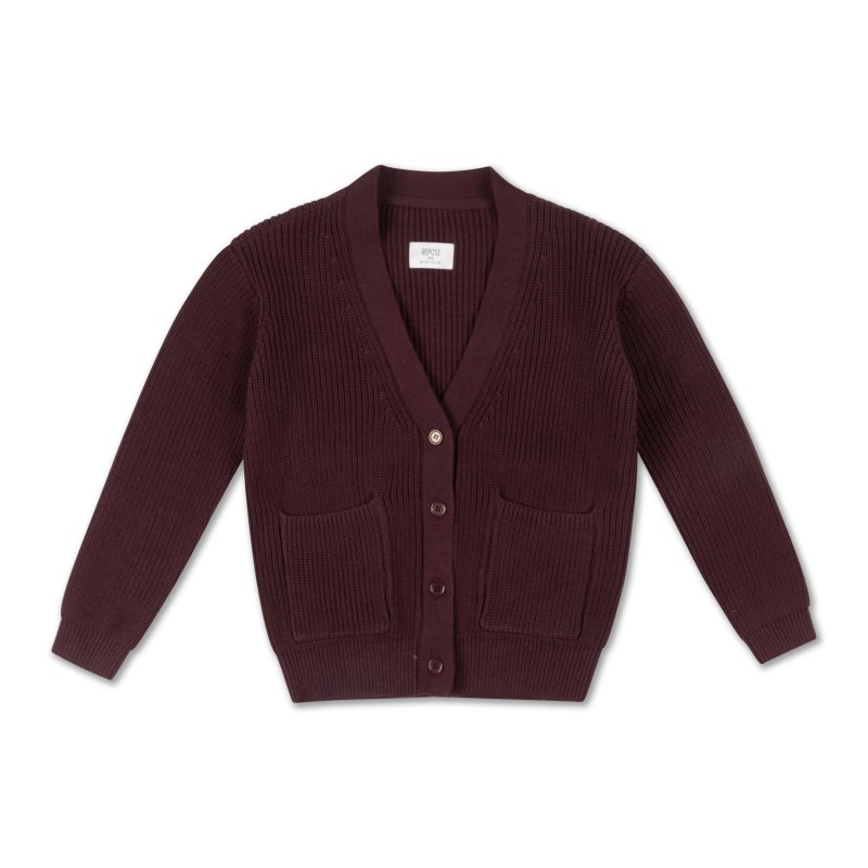 <img class='new_mark_img1' src='https://img.shop-pro.jp/img/new/icons14.gif' style='border:none;display:inline;margin:0px;padding:0px;width:auto;' />aw21 ReposeAMS knit grandpa cardigan / root brunette