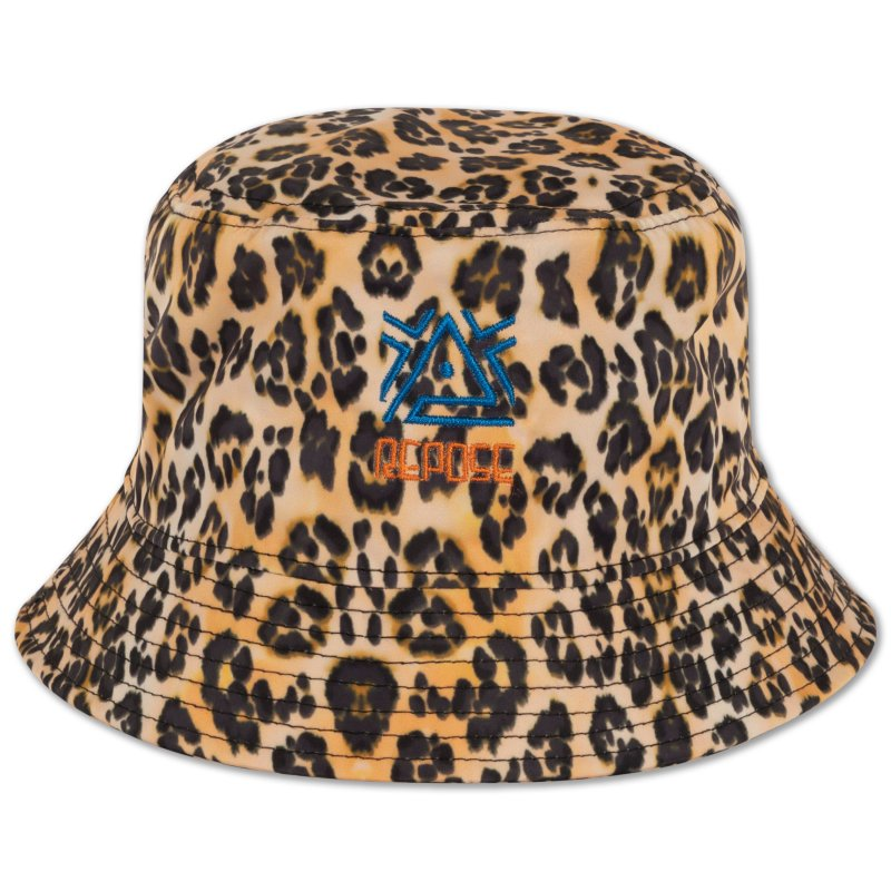 <img class='new_mark_img1' src='https://img.shop-pro.jp/img/new/icons14.gif' style='border:none;display:inline;margin:0px;padding:0px;width:auto;' />aw21 ReposeAMS bucket hat / leopard