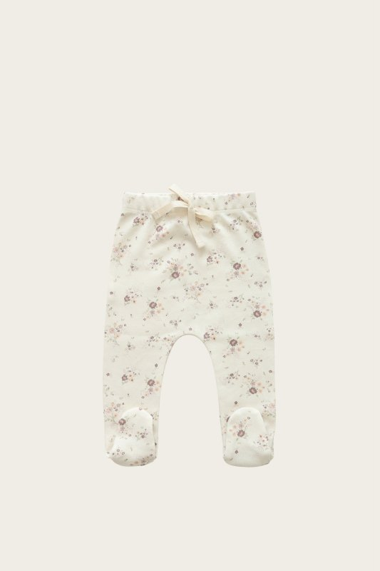 <img class='new_mark_img1' src='https://img.shop-pro.jp/img/new/icons14.gif' style='border:none;display:inline;margin:0px;padding:0px;width:auto;' />aw21 Jamie Kay  FOOTED PANT - PERIWINKLE FLORAL