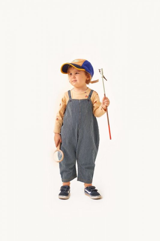 <img class='new_mark_img1' src='https://img.shop-pro.jp/img/new/icons14.gif' style='border:none;display:inline;margin:0px;padding:0px;width:auto;' />aw21 tiny cottons STRIPES DENIM DUNGAREE stripes denim(12m,18m,24m)