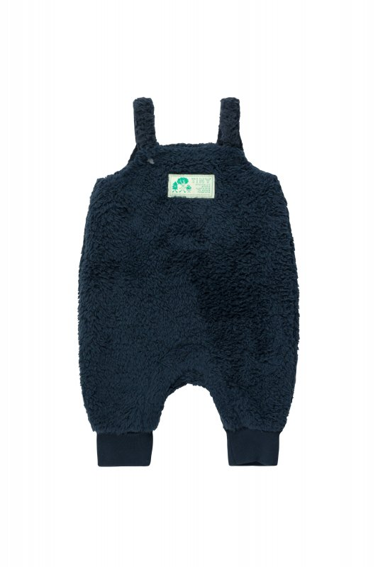 <img class='new_mark_img1' src='https://img.shop-pro.jp/img/new/icons14.gif' style='border:none;display:inline;margin:0px;padding:0px;width:auto;' />aw21 tiny cottons POLAR SHERPA DUNGAREE ink blue(12m,18m,24m)