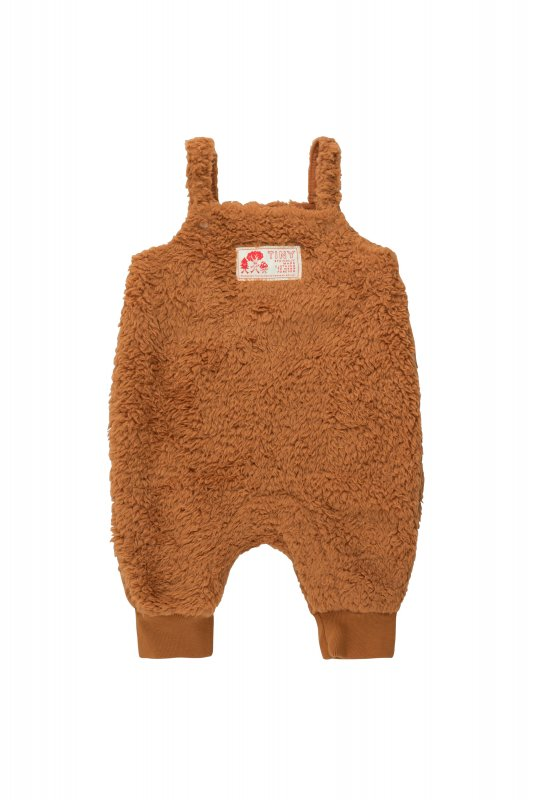 <img class='new_mark_img1' src='https://img.shop-pro.jp/img/new/icons14.gif' style='border:none;display:inline;margin:0px;padding:0px;width:auto;' />aw21 tiny cottons POLAR SHERPA DUNGAREE toffee(12m,18m,24m)