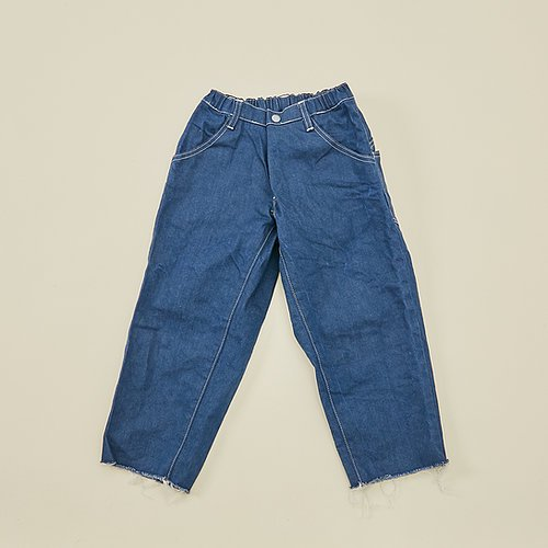 <img class='new_mark_img1' src='https://img.shop-pro.jp/img/new/icons14.gif' style='border:none;display:inline;margin:0px;padding:0px;width:auto;' />aw21 MOUN TEN wide cropped denim /125