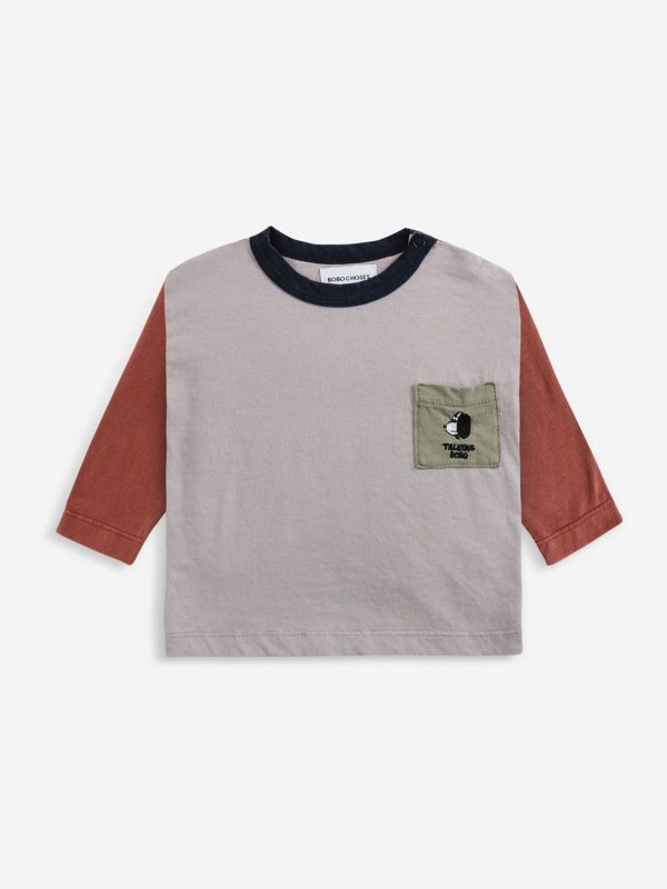 <img class='new_mark_img1' src='https://img.shop-pro.jp/img/new/icons14.gif' style='border:none;display:inline;margin:0px;padding:0px;width:auto;' />aw21 BOBOCHOSES baby Doggie long sleeve T-shirt