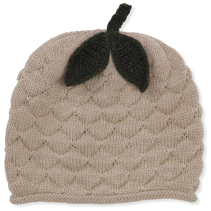 <img class='new_mark_img1' src='https://img.shop-pro.jp/img/new/icons14.gif' style='border:none;display:inline;margin:0px;padding:0px;width:auto;' />konges solid MIRO BERRY HAT / BUNNY BROWN /WHITE CREAM