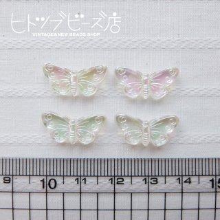 蝶々ビーズ4個セット