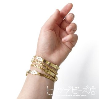 【特価】ヴィンテージ ゴールドバングル1本
