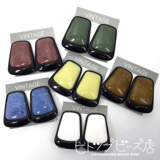 【全6色】ヴィンテージ ビッグサイズイヤリング