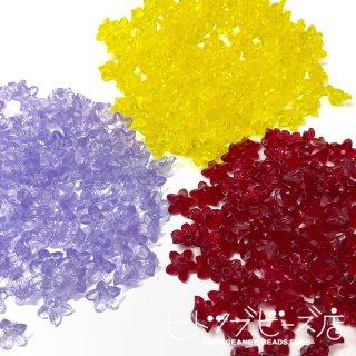 【全3色】小花ビーズ8個