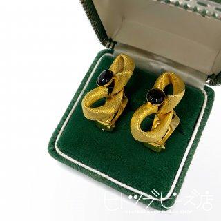 【1点限定】Vintage Textured Ribbon Earrings