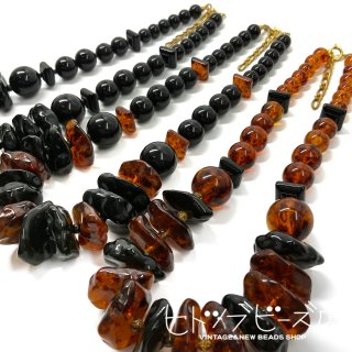 <img class='new_mark_img1' src='https://img.shop-pro.jp/img/new/icons1.gif' style='border:none;display:inline;margin:0px;padding:0px;width:auto;' />Vintage tortoiseshell style necklace (3 colors)