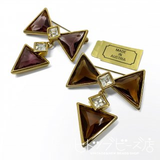 <img class='new_mark_img1' src='https://img.shop-pro.jp/img/new/icons1.gif' style='border:none;display:inline;margin:0px;padding:0px;width:auto;' />Vintage Bow Brooch (2 colors)
