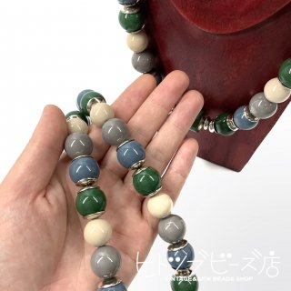 <img class='new_mark_img1' src='https://img.shop-pro.jp/img/new/icons1.gif' style='border:none;display:inline;margin:0px;padding:0px;width:auto;' />Deadstock earth colour necklace