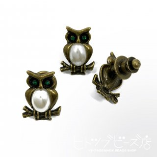 <img class='new_mark_img1' src='https://img.shop-pro.jp/img/new/icons1.gif' style='border:none;display:inline;margin:0px;padding:0px;width:auto;' />Deadstock Owl pin brooch