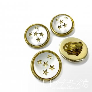 <img class='new_mark_img1' src='https://img.shop-pro.jp/img/new/icons1.gif' style='border:none;display:inline;margin:0px;padding:0px;width:auto;' />Vintage Five star earrings