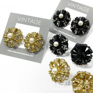 <img class='new_mark_img1' src='https://img.shop-pro.jp/img/new/icons1.gif' style='border:none;display:inline;margin:0px;padding:0px;width:auto;' />Vintage crown earrings (2 colors)