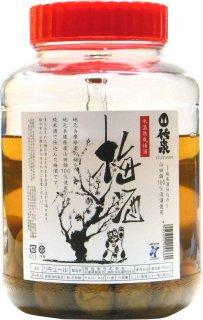 竹泉 純米酒仕込み 梅酒(広口瓶)2.7L【要冷蔵】