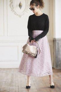 レーススカート(ピンク)