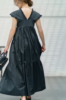 ティアードドレス(ブラック)