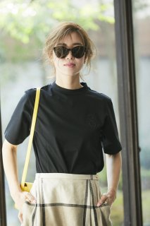SVT刺繍Tシャツ(ブラック)