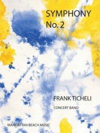 (楽譜) 交響曲第2番 / 作曲:フランク・ティケリ (吹奏楽)(スコア+パート譜セット)