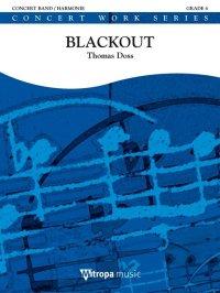 (楽譜) ブラックアウト / 作曲:トーマス・ドス (吹奏楽)(スコア+パート譜セット)