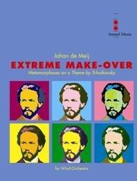 (楽譜) エクストリーム・メイクオーヴァー / 作曲:ヨハン・デメイ (吹奏楽)(スコア+パート譜セット)
