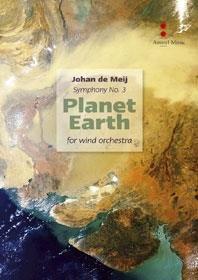 (楽譜) 交響曲第3番「プラネット・アース」(合唱パートなし) / 作曲:ヨハン・デメイ (吹奏楽)(スコア+パート譜セット)