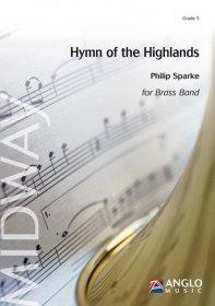 (楽譜) ハイランド賛歌組曲 (ブラスバンド版全曲版) / 作曲:フィリップ・スパーク (ブラスバンド)(スコア+パート譜セット)