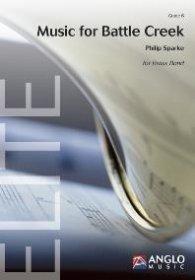 (楽譜) バトル・クリークへの音楽 / 作曲:フィリップ・スパーク (ブラスバンド)(スコア+パート譜セット)