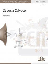 (楽譜) セントルシア・カリプソ / 作曲:ロブ・ウィッフィン (吹奏楽)(スコア+パート譜セット)