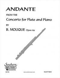 (楽譜) アンダンテ / 作曲:ベルンハルト・モーリック (フルート+ピアノ)