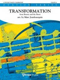 (楽譜) トランスフォーメーション(映画「美女と野獣」より) / 作曲:A.メンケン(編曲:ジャンブールクィン) (吹奏楽)(スコア+パート譜)