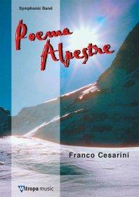 (楽譜) アルプスの詩 / 作曲:フランコ・チェザリーニ (吹奏楽)(スコア+パート譜セット)