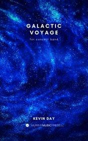 【吹奏楽 楽譜】<br>銀河の航海 <br>作曲:ケヴィン・デイ<br>