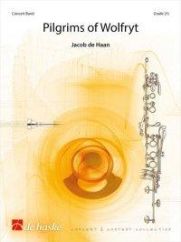 (楽譜) ワルフリドゥスの巡礼者 / 作曲:ヤコブ・デハーン (吹奏楽)(スコア+パート譜セット)