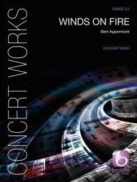 (楽譜) ウインズ・オン・ファイア / 作曲:ベルト・アッペルモント (吹奏楽)(スコア+パート譜セット)