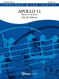 (楽譜) アポロ11号 / 作曲:オットー・M・シュヴァルツ (吹奏楽)(スコア+パート譜セット)