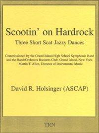 (楽譜) スクーティン・オン・ハードロック / 作曲:デヴィッド・R・ホルジンガー (吹奏楽)(スコア+パート譜セット)