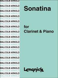 (楽譜) クラリネットとピアノのためのソナチネ 作品29 / 作曲:マルコム・アーノルド (クラリネット&ピアノ)