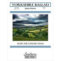 (楽譜) ヨークシャー・バラード / 作曲:ジェイムズ・バーンズ (吹奏楽)(スコア+パート譜セット)