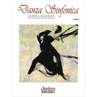 (楽譜) ダンツァ・シンフォニカ / 作曲:ジェイムズ・バーンズ (吹奏楽)(スコア+パート譜セット)